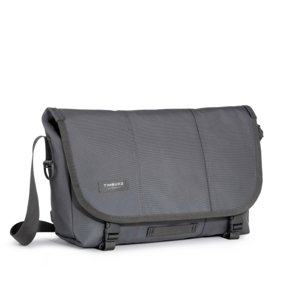 Classic Messenger Bag -Small Gunmetal
