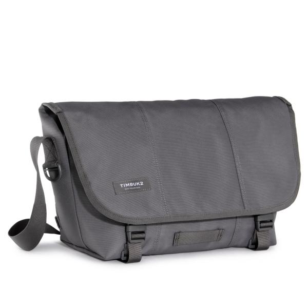 Classic Messenger Bag - Medium Gunmetal