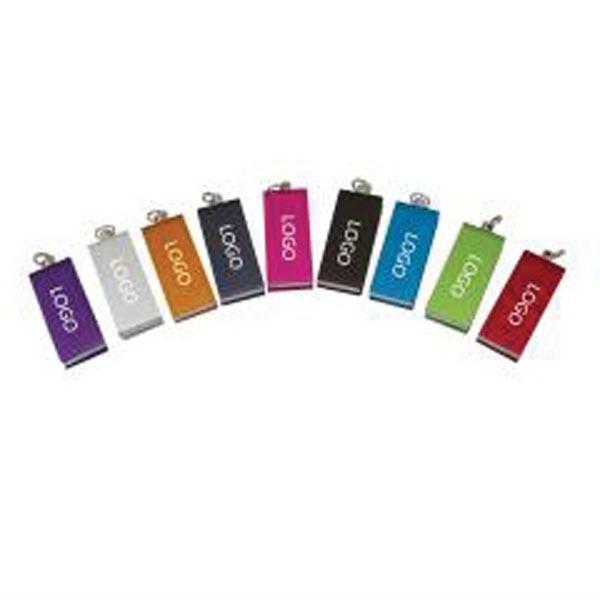 Mini Metal Swivel 8GB USB