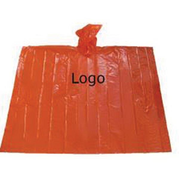 Promotional Disposable Rain Poncho /PE Raincoat
