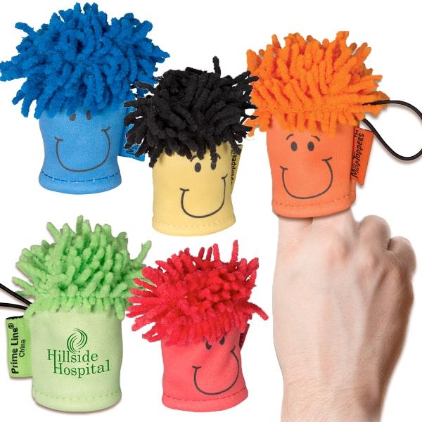 MopTopper™ Finger Puppet Screen Cleaner