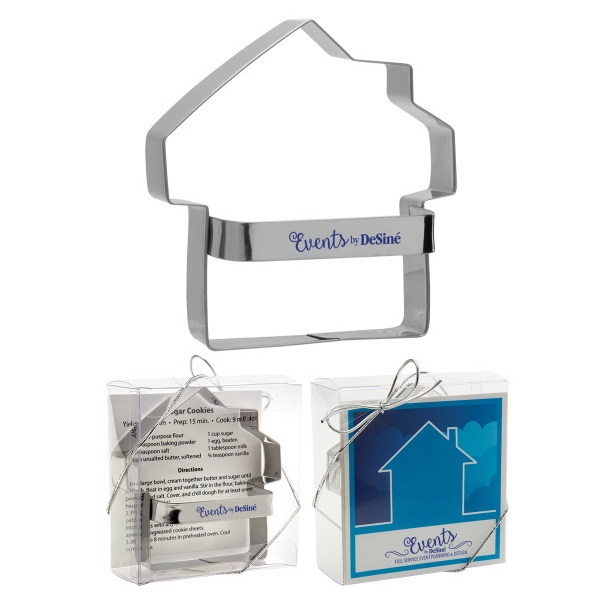 Metal House Cookie Cutter