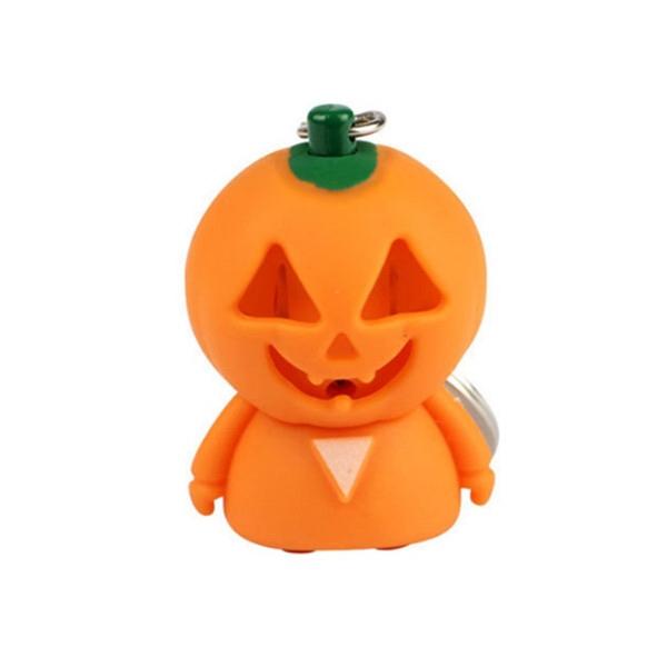 ABS Pumpkin Man Key Chain