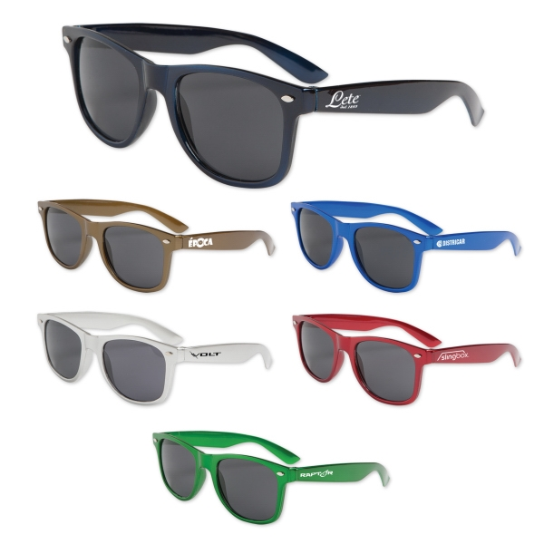 Iconic Metallic Colored Sunglasses