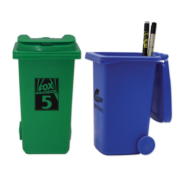 Trash Can Pencil Holders