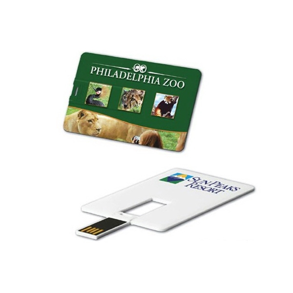 Credit Card USB Drive with Free Shipping & Quick Turnaround