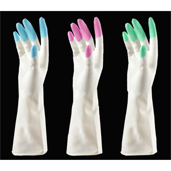 Waterproof Cleaning Rubber Gloves
