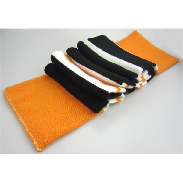 Sportsman Striped Knit Scarf