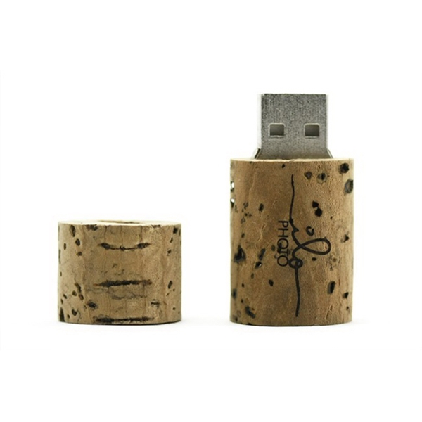 Wine Cork USB Drive with Free Shipping & Quick Turnaround