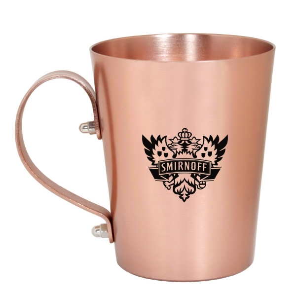 15 OZ COPPER COATED ALUMINUM  MOSCOW MULE