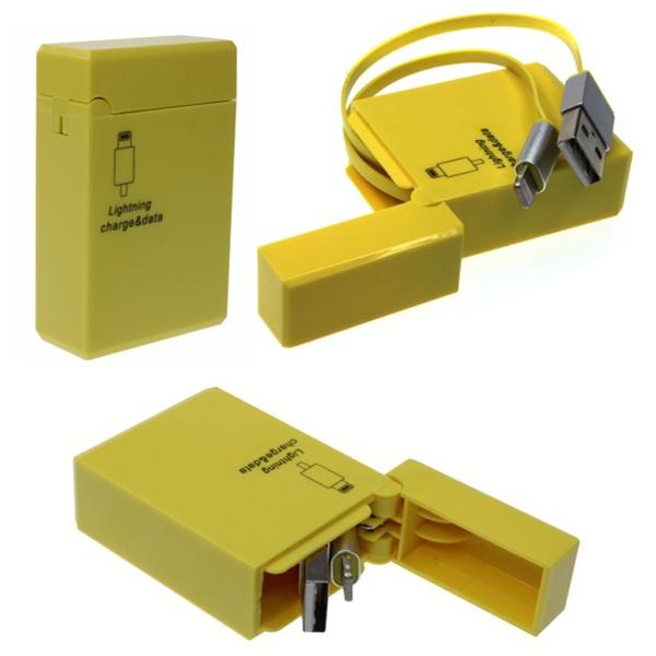 Lighting or Micro USB charging and data