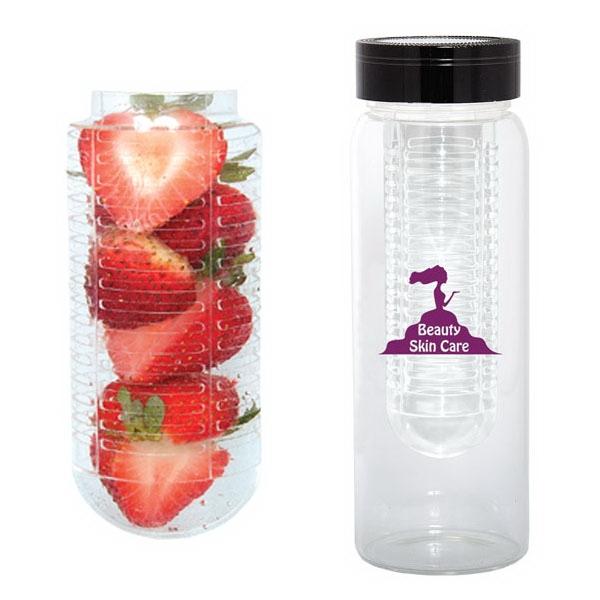 500 ml 17 oz water bottle with fruit infuser. Black Bedroom Furniture Sets. Home Design Ideas