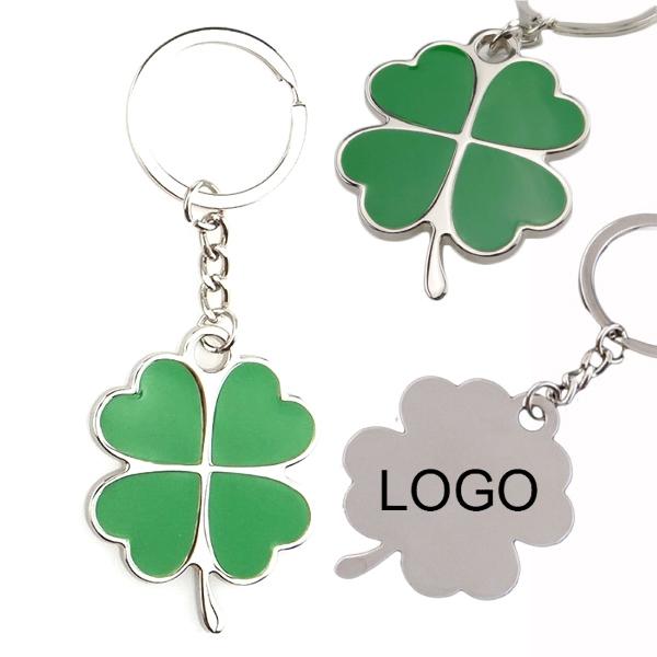 Shamrock Key Chain for St Patricks Day