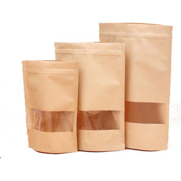 Kraft Paper Zip Lock Bag