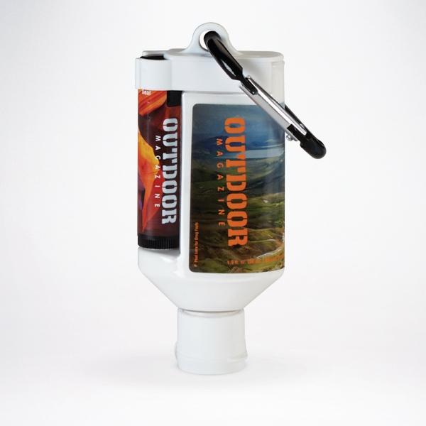 1.9oz Duo Bottle w/SPF 50 Sunscreen/SPF 15 Lip Balm in Tube