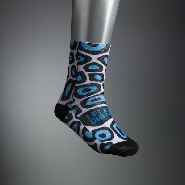 Imported Dye-Sublimated Socks