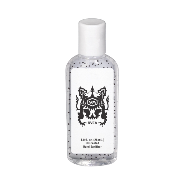 1 oz. Beaded Gel Sanitizer in Tall Flip-Top Bottle