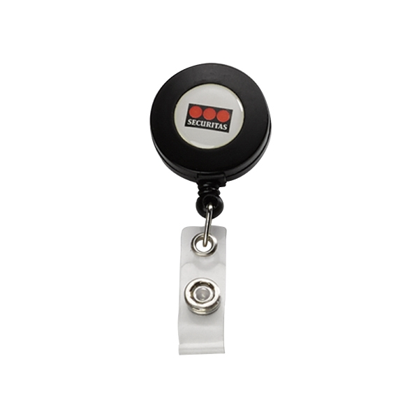 Imported Plastic Retractable Badge Reel