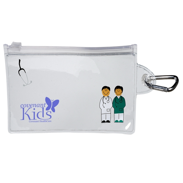 Doctor & Nurse Clear Pouch