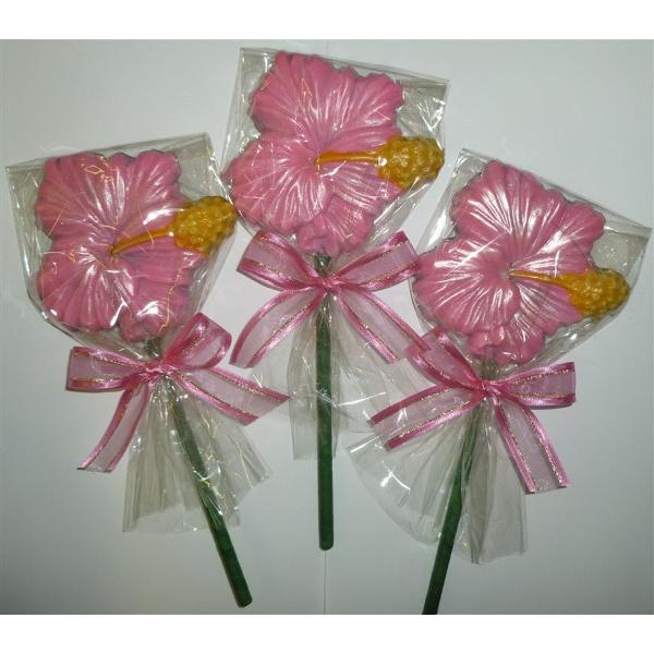 Fancy Hibiscus Flower Pop