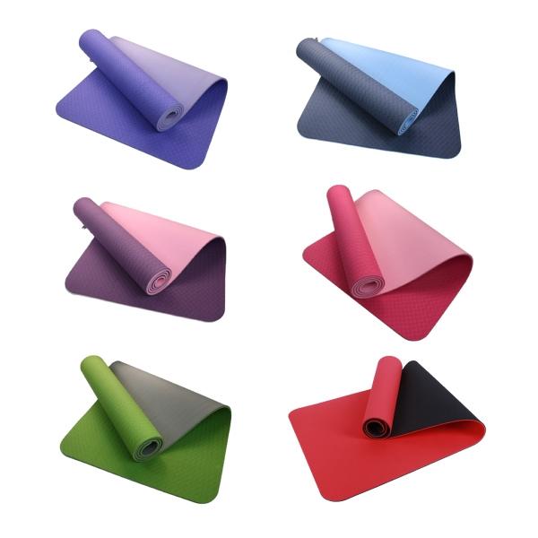 Double Color Yoga Mat