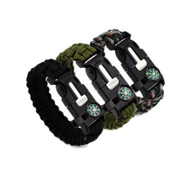 5 in 1 Multifunction Survival Bracelet