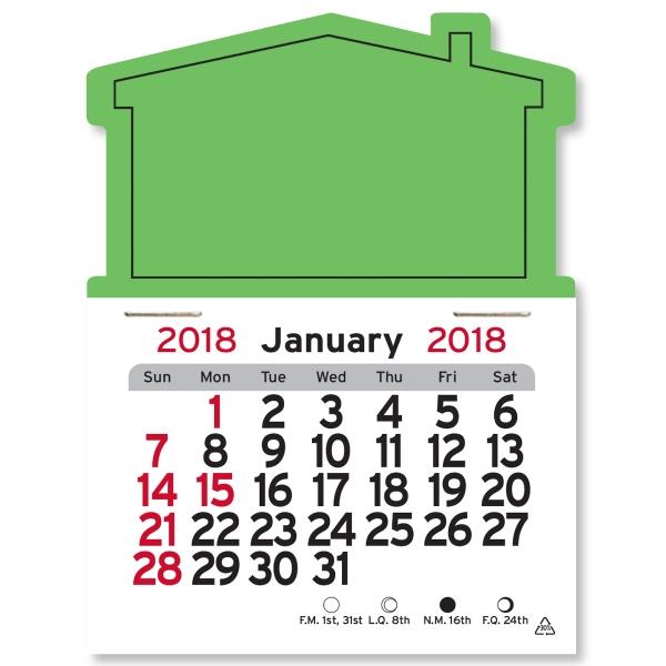 House Shaped Peel-N-Stick (R) Calendar