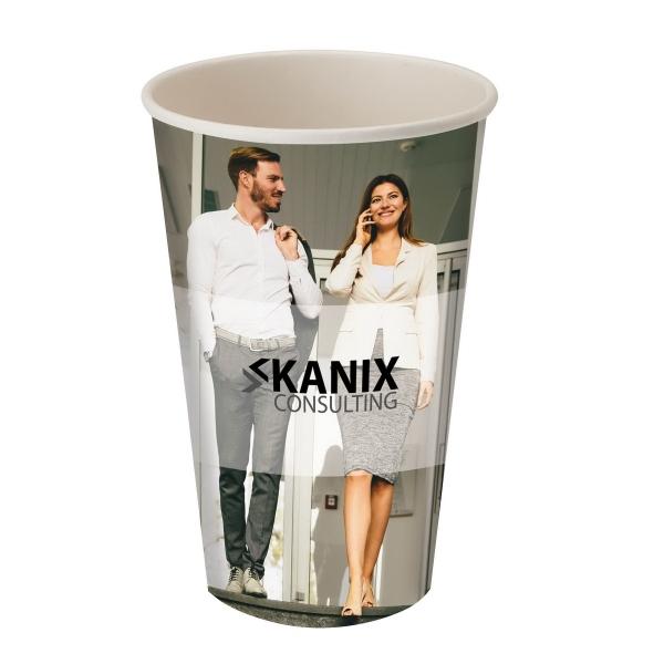 Përka® 20oz Single Wall Paper Drinking Cup