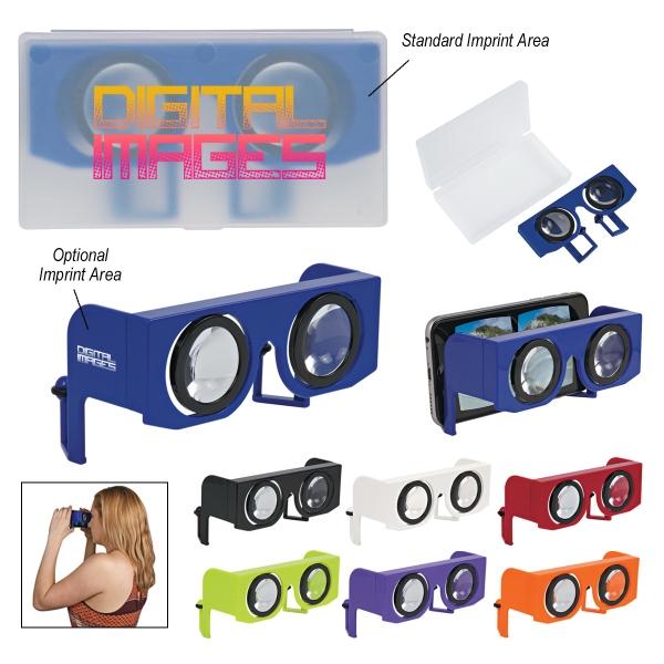 Folding Virtual Reality Goggles