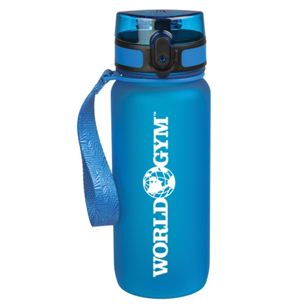 22 oz. Samoa Soft Touch Tritan Water Bottles
