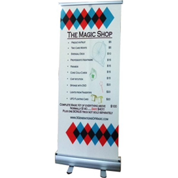 Promo Roll Up Banner