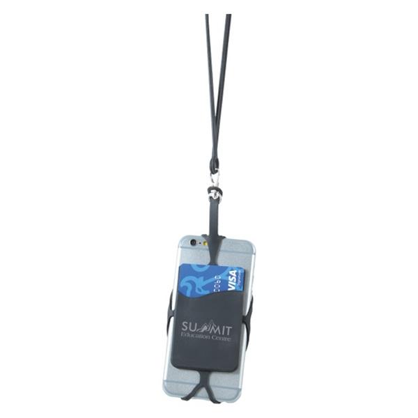 Silicone Smartphone Neck Wallet