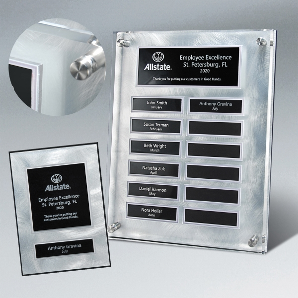 Swirled Excellence Metal & Lucite Series - Package