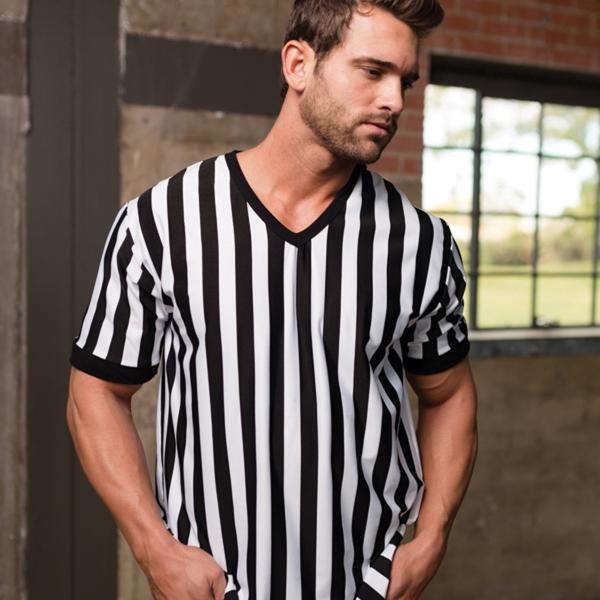 Men's Referee V-Neck Shirt