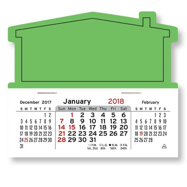 House Shaped Mega Peel-N-Stick(R) Calendar