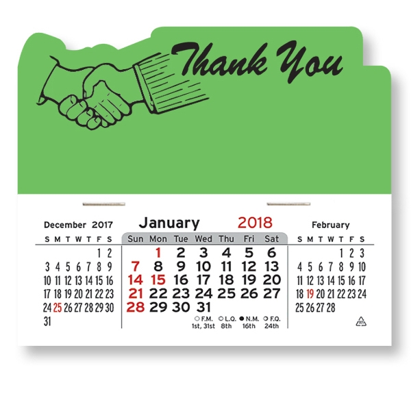 Thank You Mega Peel-N-Stick (R) Calendar