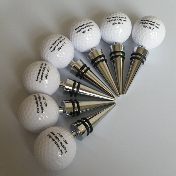 Golf Wine Stopper