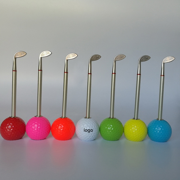 Ballpoint Pen With Golf Holders