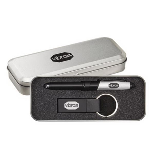 Nano Pen/Stylus/Keyring Gift Set
