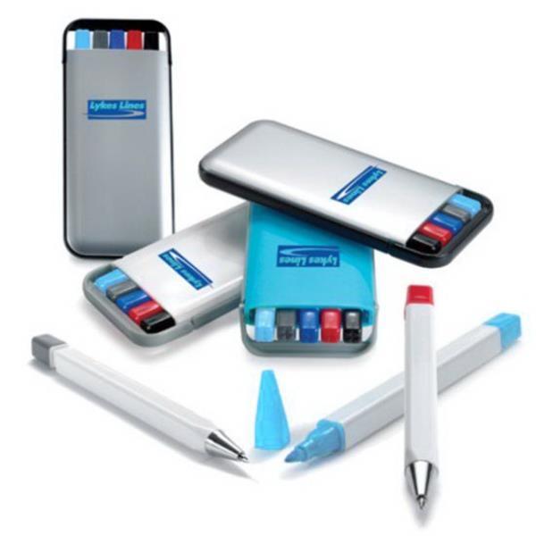 WGG! Gift Set (3 Pens, Pencil, Highlighter)