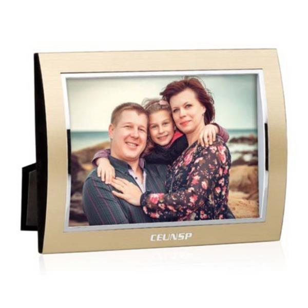 """Curvo Frame - 4""""x6"""" Gold/Silver"""