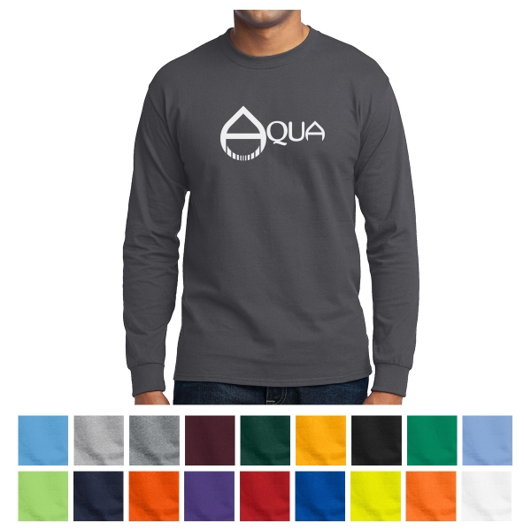 Port & Company Long Sleeve Core Blend Tee