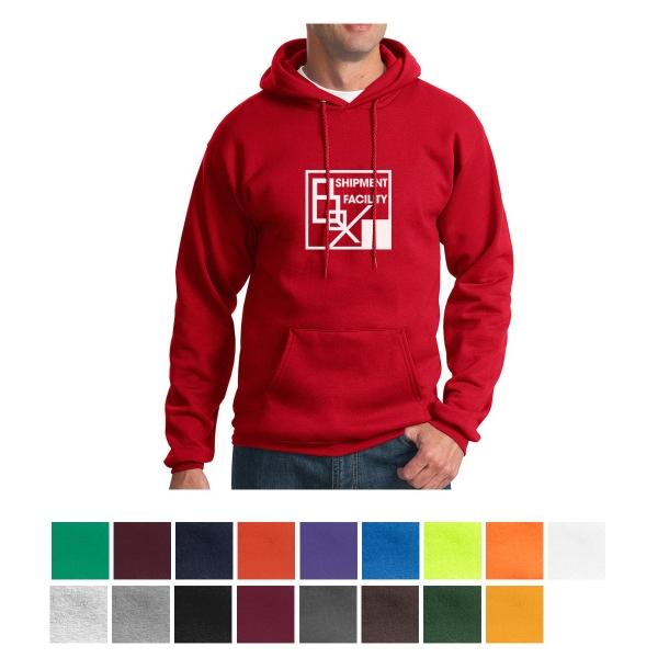 Port & Company Essential Fleece Pullover Hooded Sweatshirt