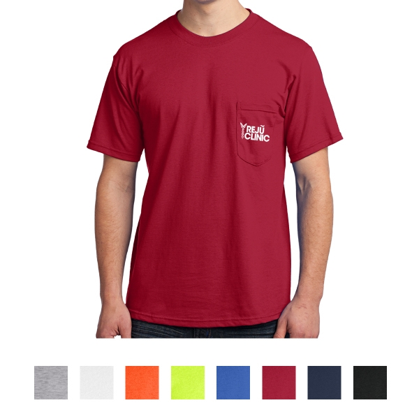Port & Company® - All-American Tee With Pocket