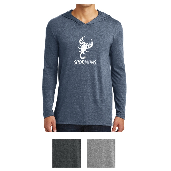 District Made Men's Perfect Tri Long Sleeve Hoodie