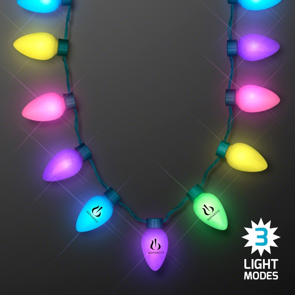 Spring Colors Large Bulb Necklaces
