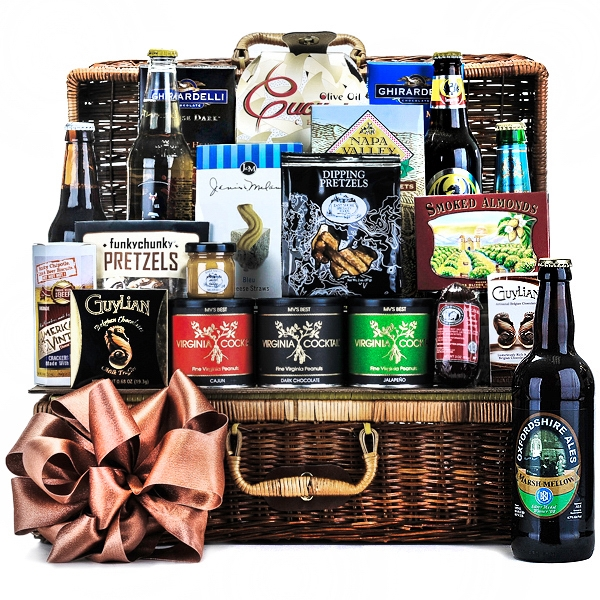Beer from Around The World Basket