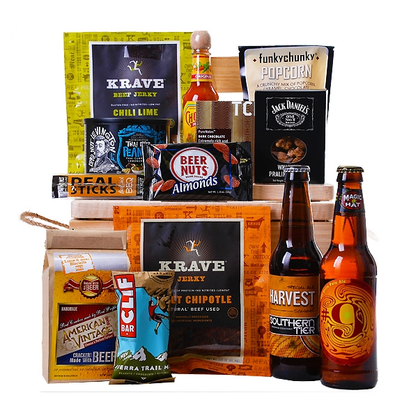 Beer and Munchies Crate