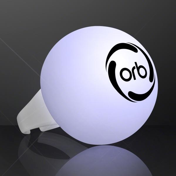 White Light LED Deco Ball Ring