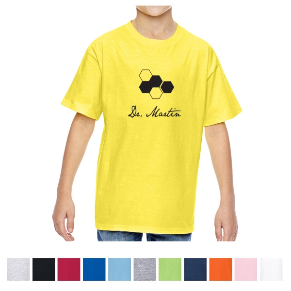 Hanes Youth Nano-T Cotton T-Shirt